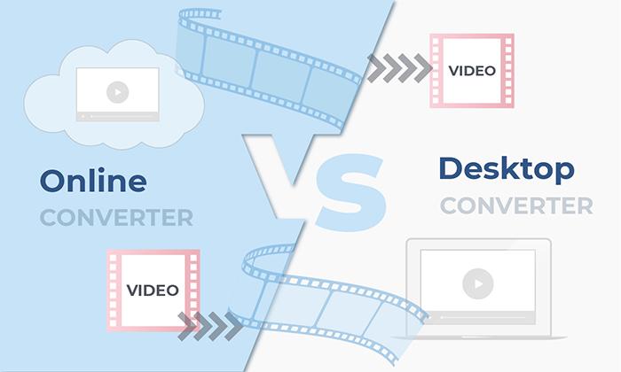 Online vs Desktop converters