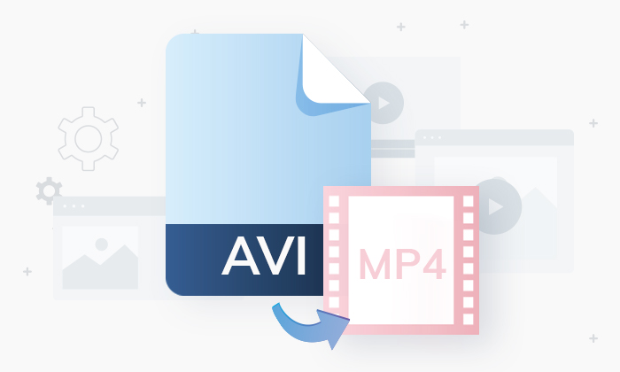 AVI to MP4 conversion