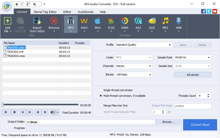 AVS Audio Converter 10.0