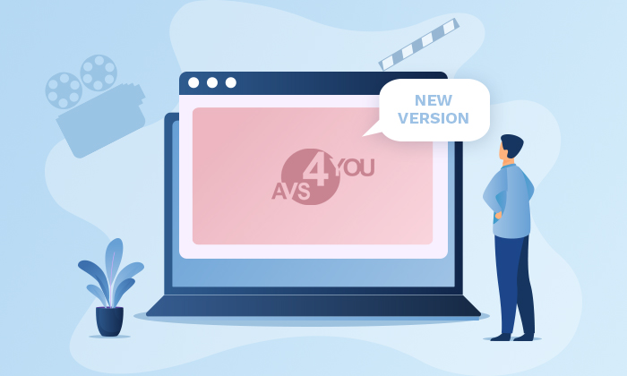 AVS4YOU new version