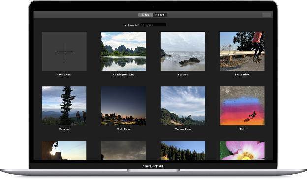 4K video editing in iMovie
