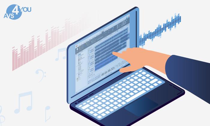 Verbesserung der Sprachaufnahmen in AVS Audio Editor