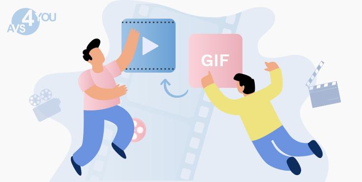 Convert GIFs to video