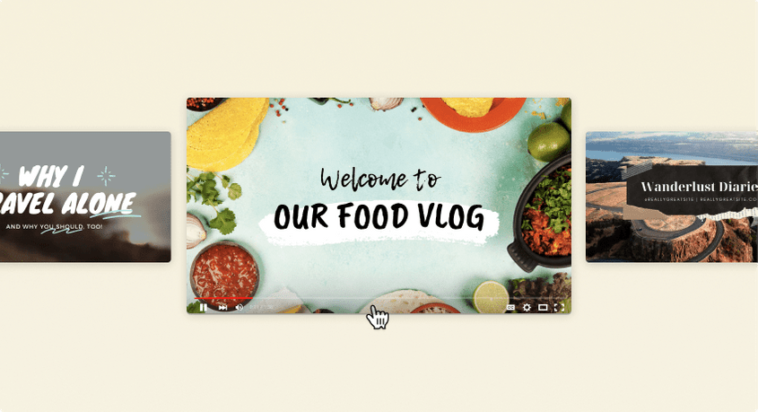 How to make a YouTube intro in Canva
