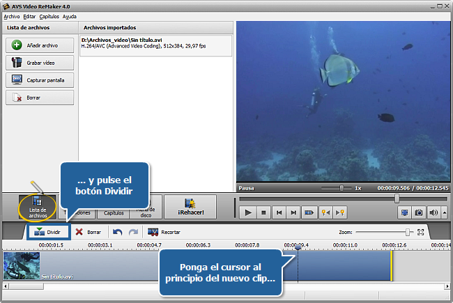 Watch How to Split Video Using Avs Video Remaker video