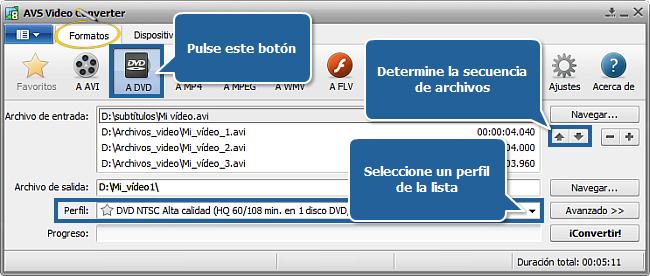 Convertir Formato Avi Dvd - ciodersco-mp3