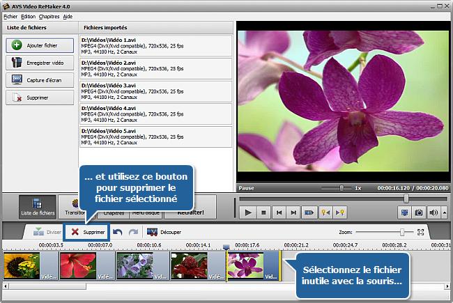 برنامج للدمج مجموعة مقاطع الفيديو