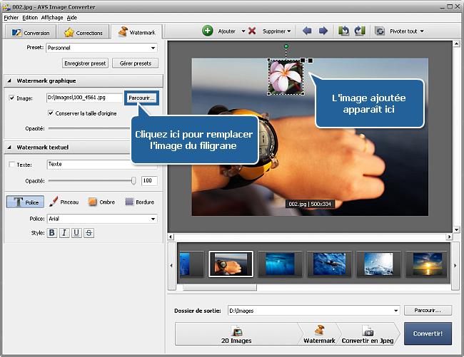 Comment ins rer un logo dans un groupe d 39 images - Logiciel pour couper une photo gratuit ...