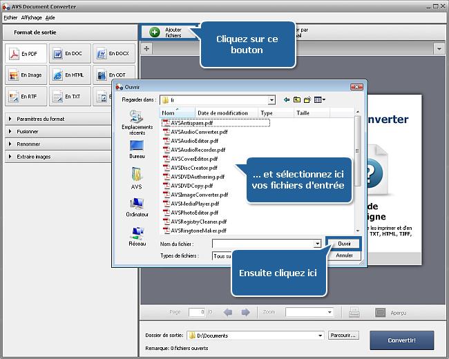 Comment convertir pdf au format docx - Convertir fichier pdf en open office ...
