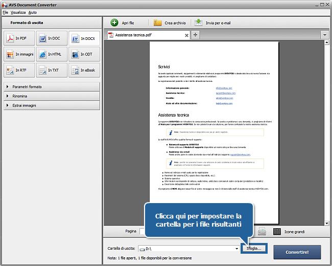 come salvare i documenti in pdf