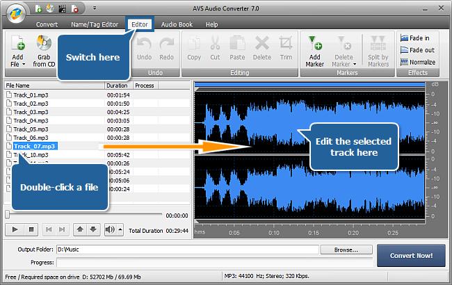 онлайн аудио конвектор - фото 2