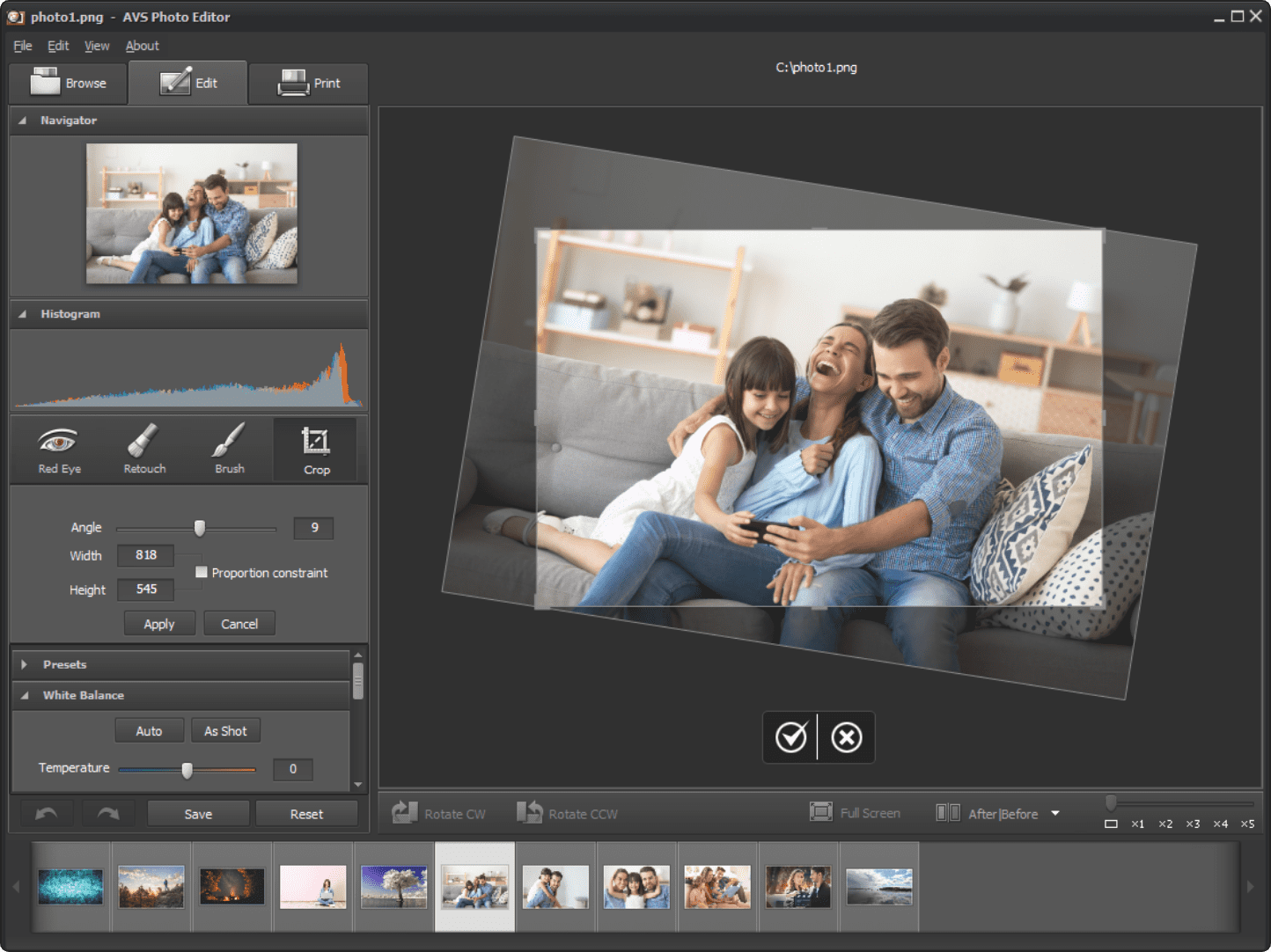 Avs Free Photo Editor Is A Free Photo Editing Software